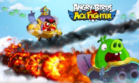Angry BIrds Ace Fighter Header