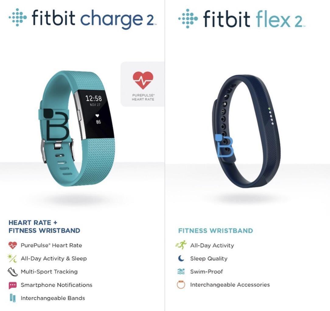 Fitbit Charge 2 und Flex 2: So sehen die neuen Fitness ...
