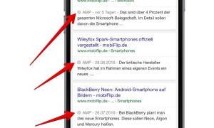 amp search google