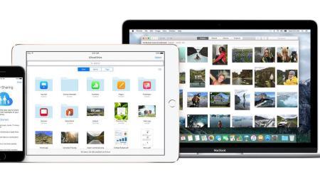 iCloud Header
