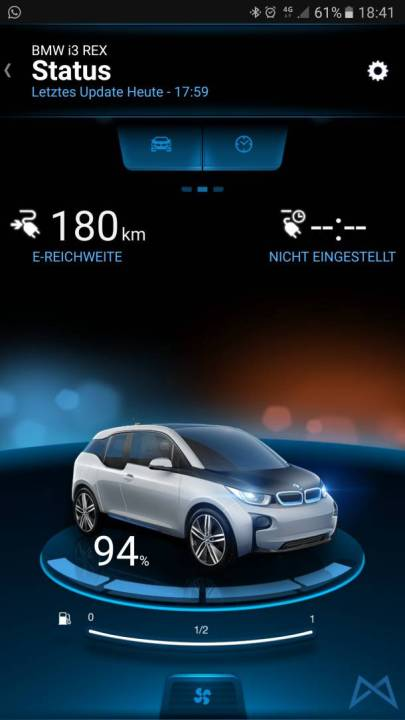 BMW i3 Connected Drive