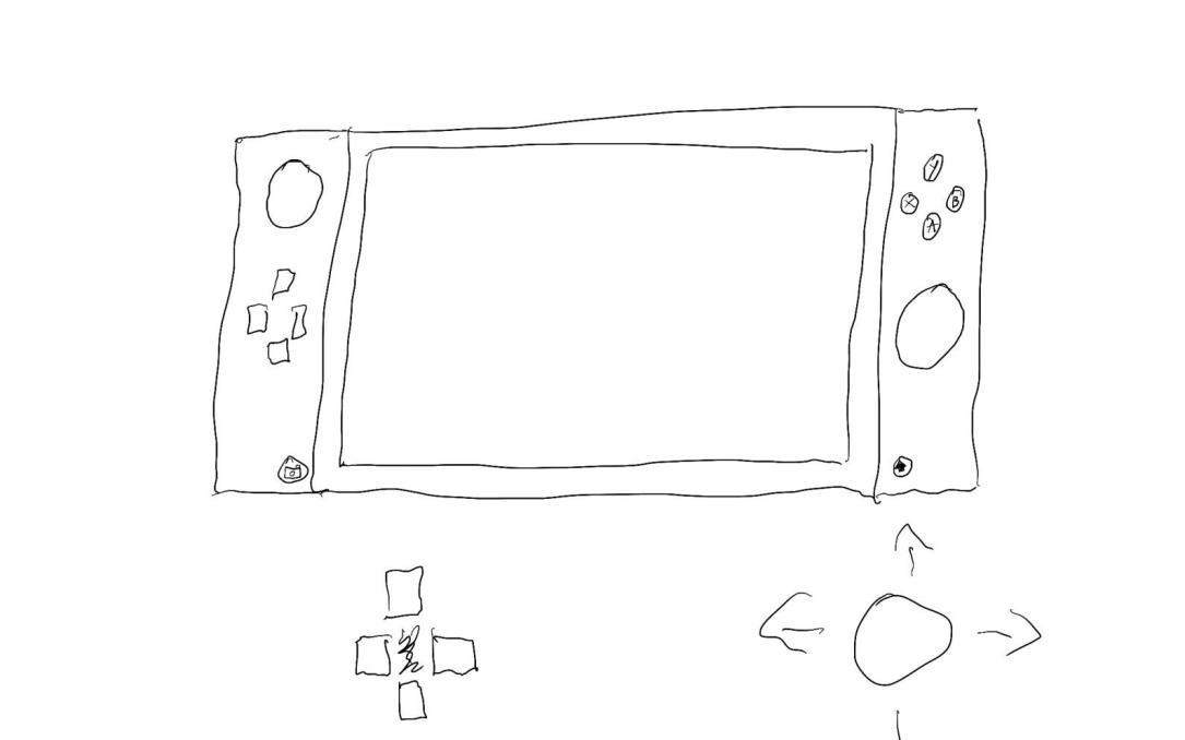 Nintendo NX Skizze