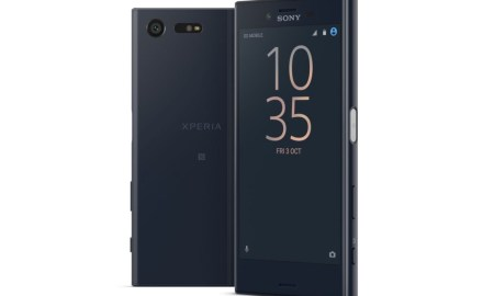 Sony Xperia X Compact Schwarz Header