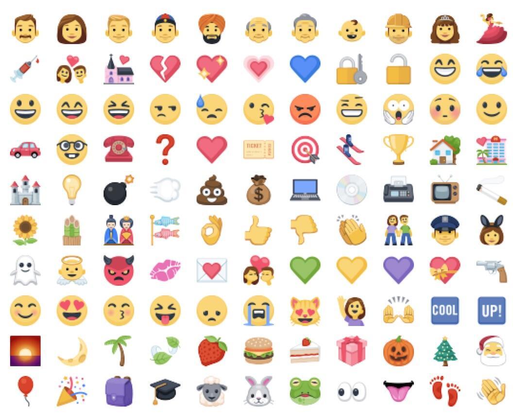 Emoji In Facebook
