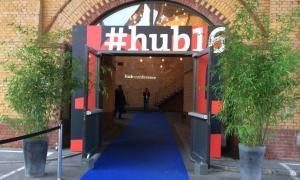 Eingang zur hub 2016