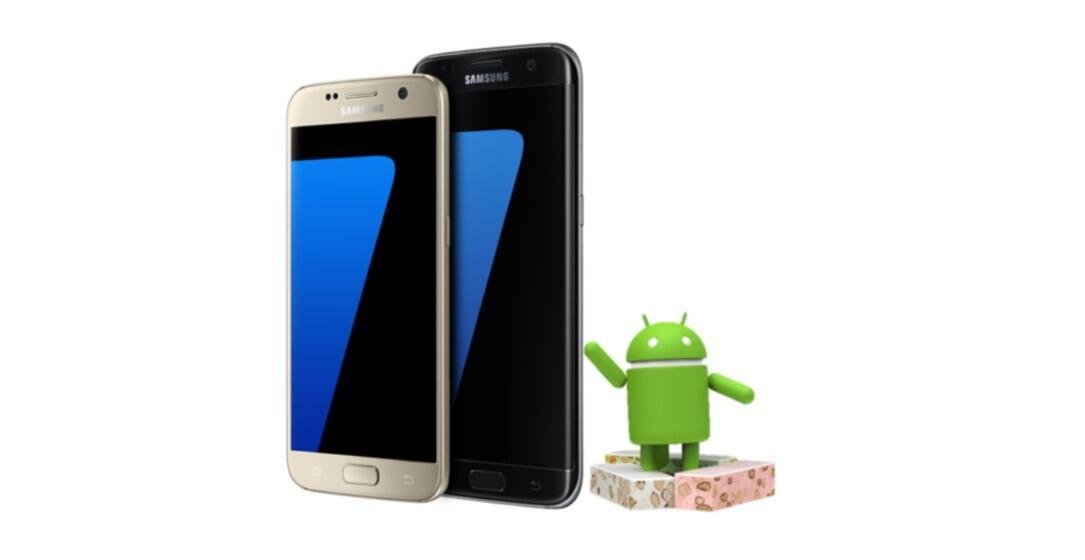 Samsung Galaxy S7 (Edge): Android 7.0 Nougat ist fertig