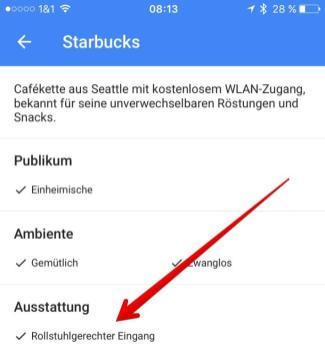 google maps infos rollstuhl
