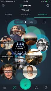 Speakster Screen3