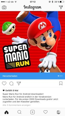 Super Mario Run Android Fake Screens3