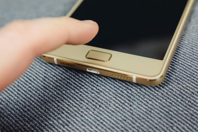 Lenovo P2 Fingerabdrucksensor