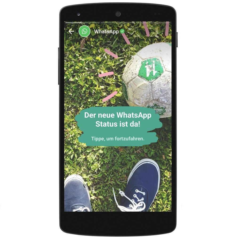 WhatsApp kündigt