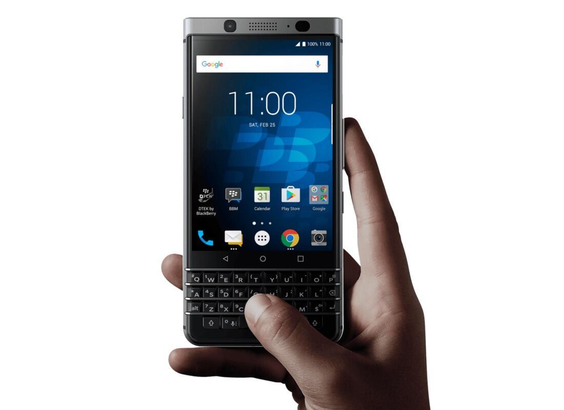BlackBerry KEYone mit echter Tastatur & Android ab 16. Mai im Handel