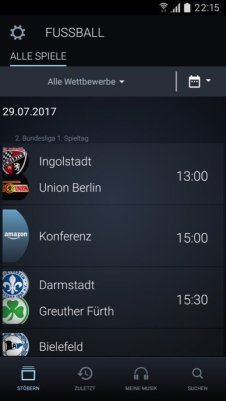Amazon Music Bundesliga App Android 03