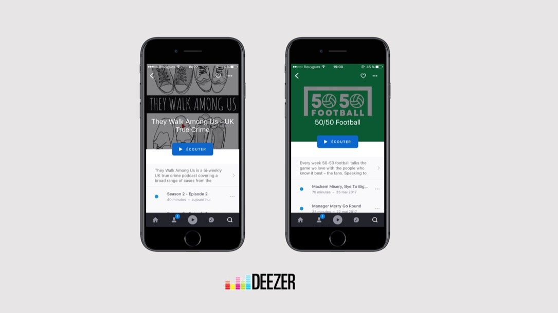 Deezer Audioboom