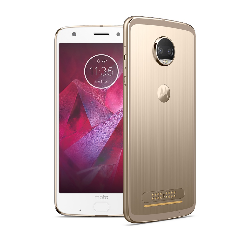 Motorola Moto Z2 Force Gold