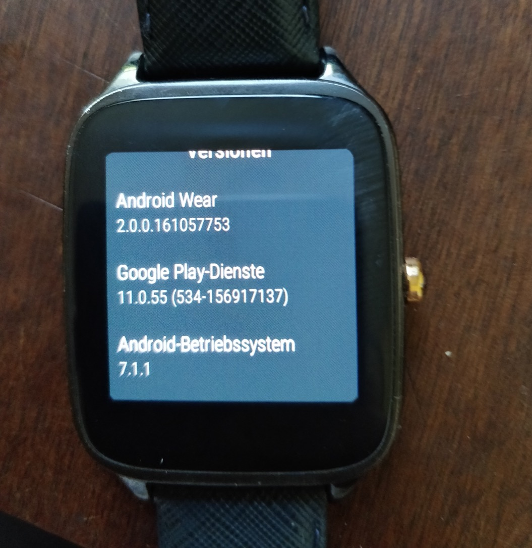 Zenwatch 2 Android Wear 2 2