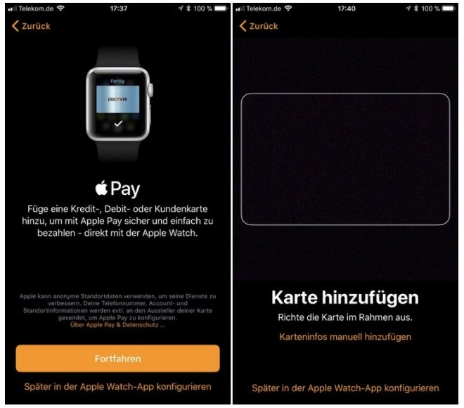 Apple Pay Ios 11 Beta Deutschland