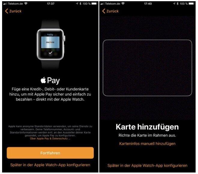 Apple Pay Ios 11 Beta Deutschland