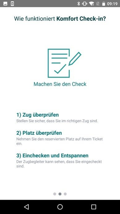 Db Vertrieb Gmbh Db Navigator Android Komfort Check In Screen3 Stand 08 2017