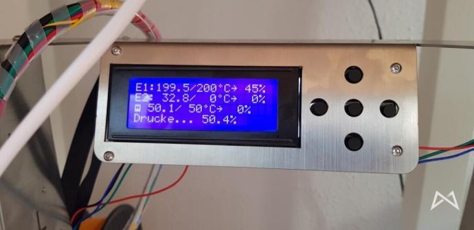 Display 3d Drucker