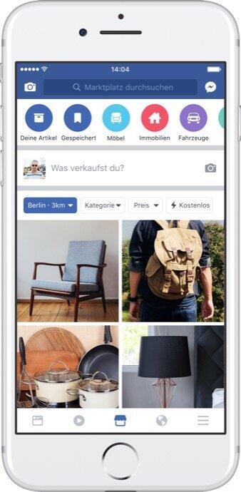 Facebook Marktplatz