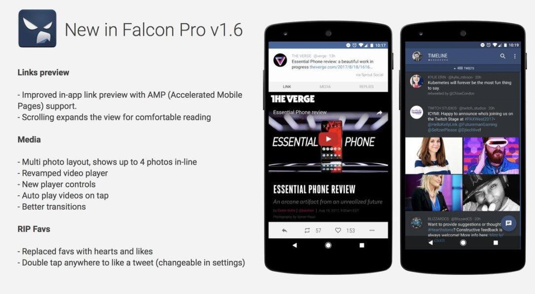 Falcon Pro Update