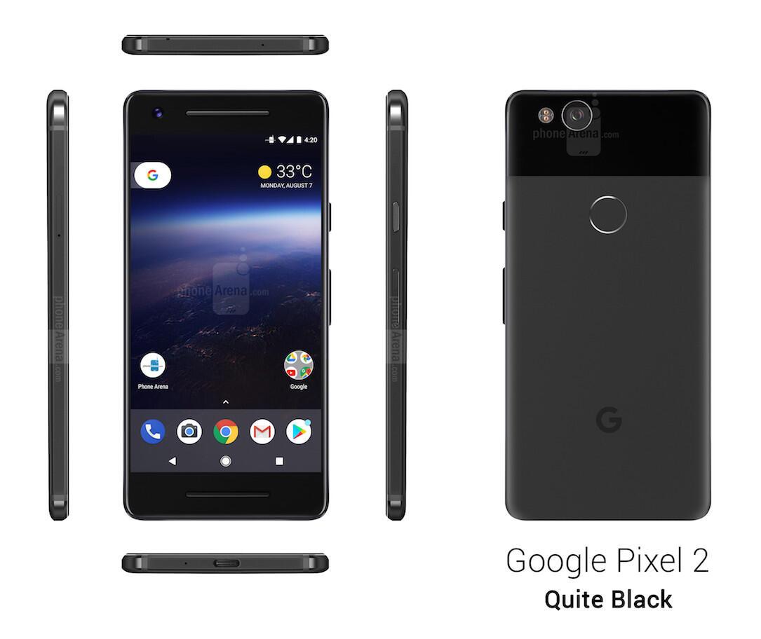 Google Pixel 2 Schwarz