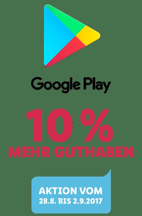 Google Play Guthaben Rabatt