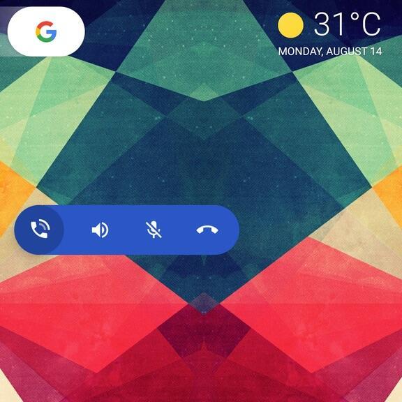 Google Telefon Button