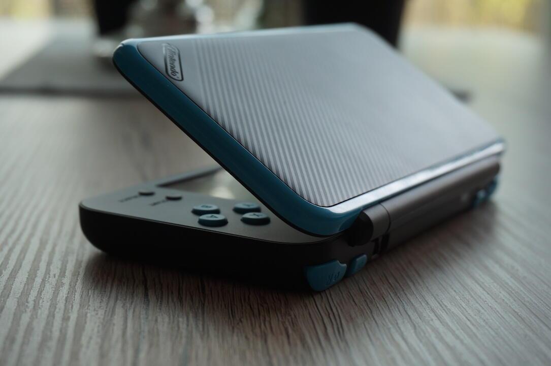 New Nintendo 2ds Xl Open