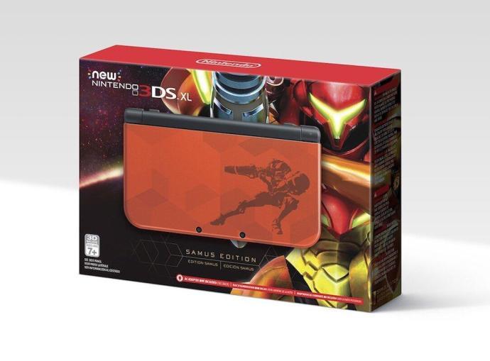 Nintendo 3ds Xl Samus Edition