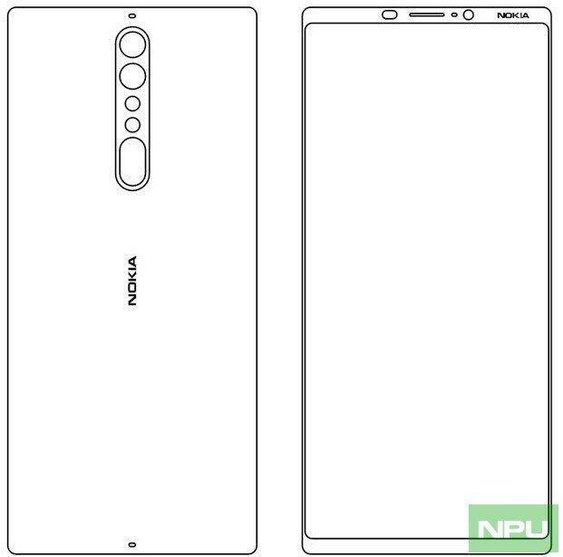 Nokia 9 Sketch