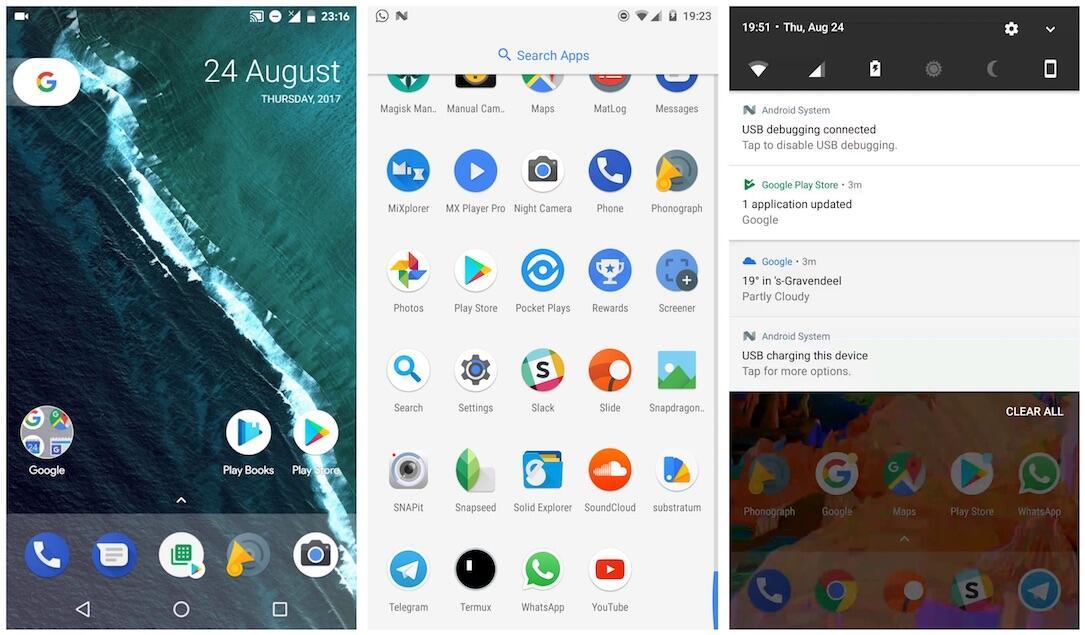 Pixel Launcher Screenshots