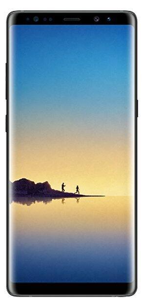 Samsung Galaxy Note 8 Front Leak