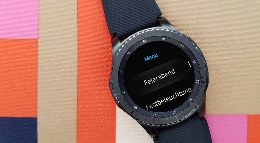 Samsung Gear S3 Frontier Tasker