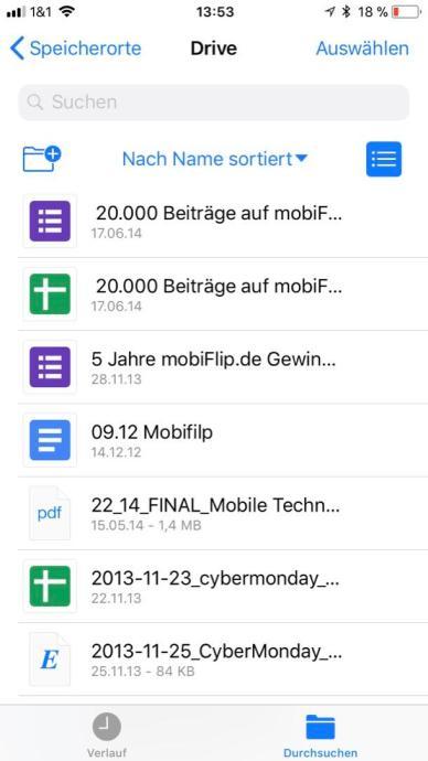 Drive Ios Files App