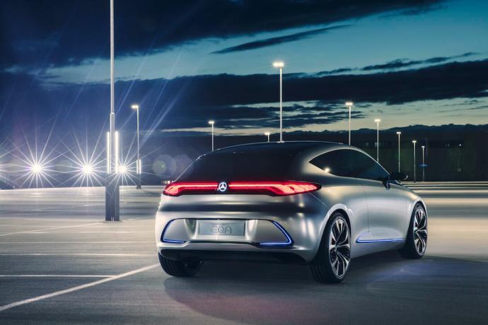 Showcar Mercedes Benz Concept Eqa