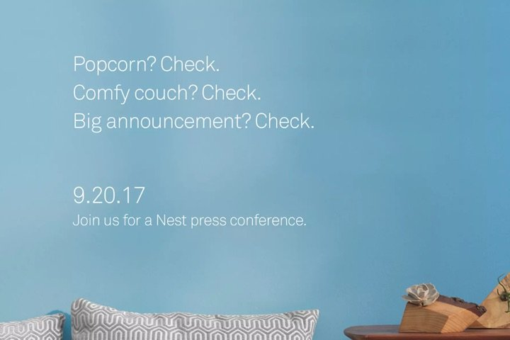 Nest Event September