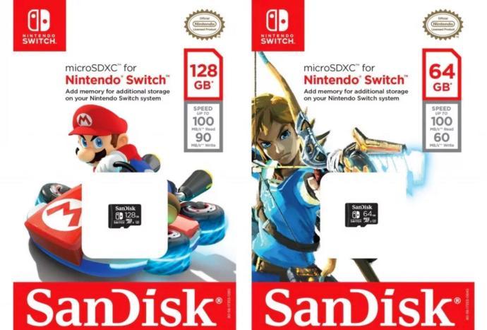 Sandisk Nintendo Switch Microsd Karte