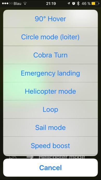Tobyrich Smartplane Pro App Ansicht 3