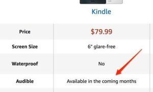 Amazon Kindle Audible