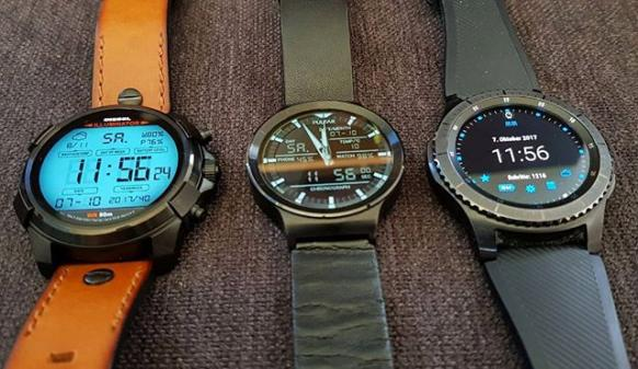 Dieselon Full Guard Huawei Watch Samsung Gear S3 Frontier