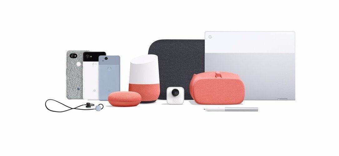 Google Pixel Hardware Header