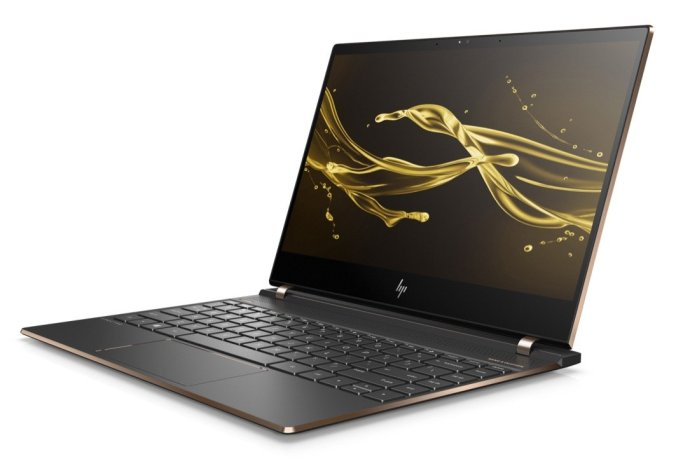 Hp Spectre 13 Laptop Front Left Dark Ash Silver