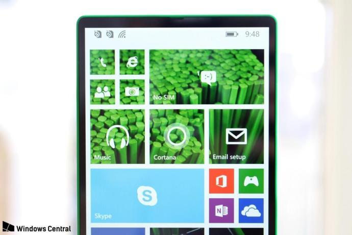 Lumia 435 Prototyp Header