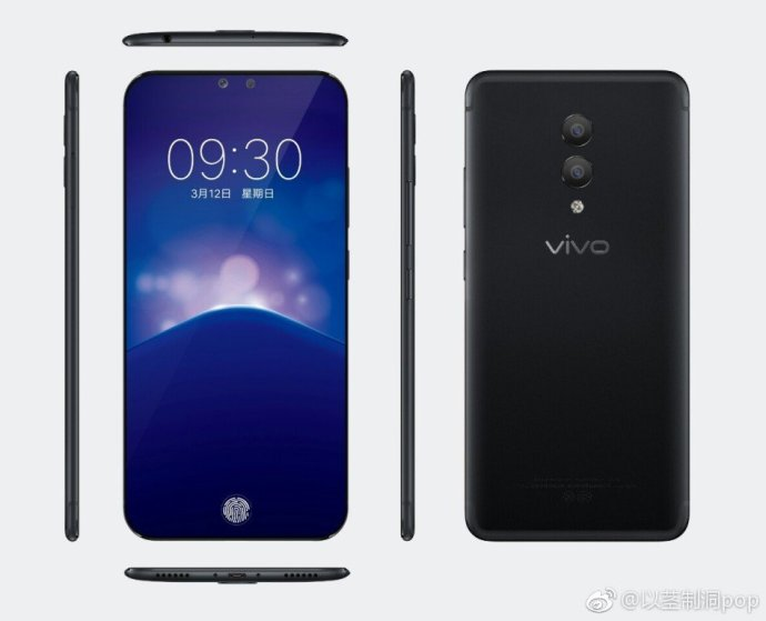 Vivo Xplay7 Leak Schwarz