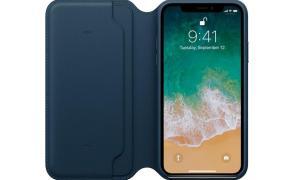 Apple Iphone X Leder Folio