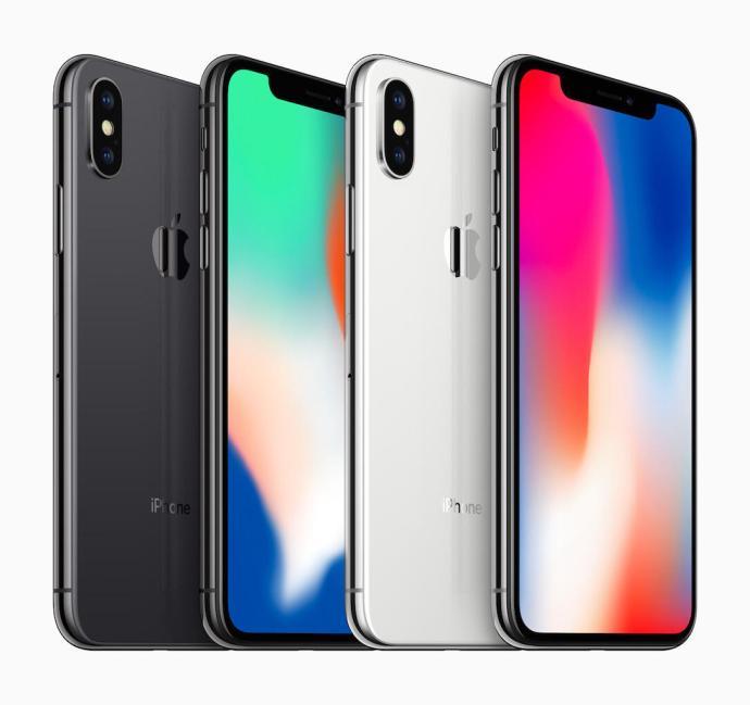 Apple Iphone X Weiss Grau Header