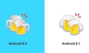 Google Beers Emoji Before After Emojipedia