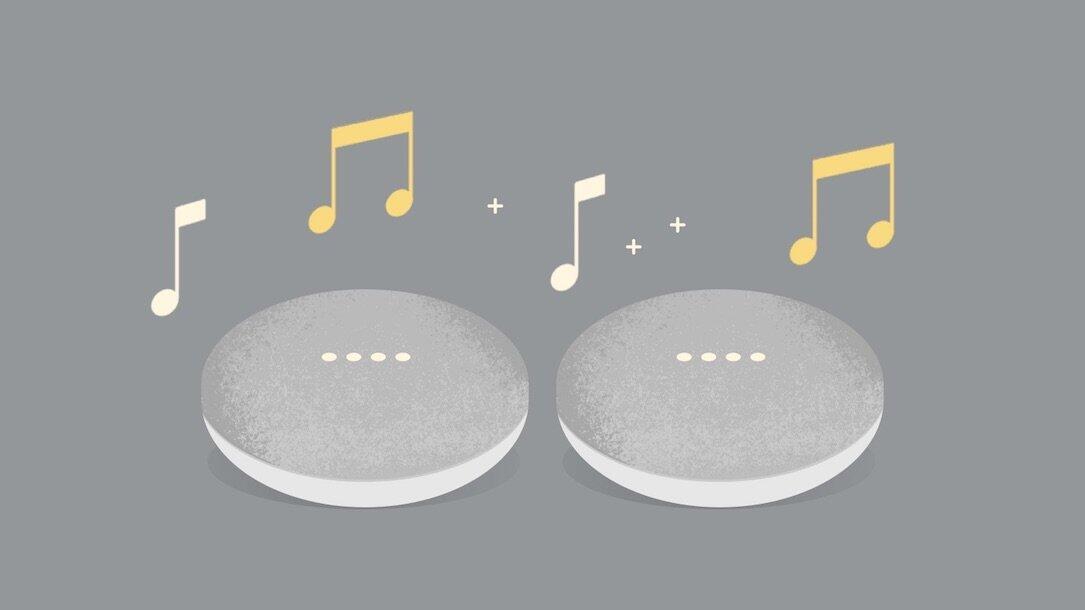 Google Home Mini Stereo